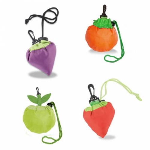 Bolsas plegables para la compra con forma de frutas for Compra de sillas plegables
