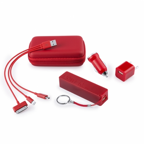 Set Power Bank Publicitario Xamer