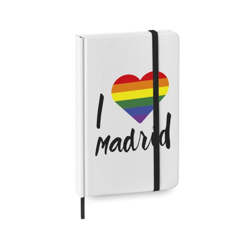 Libreta orgullo gay Madrid